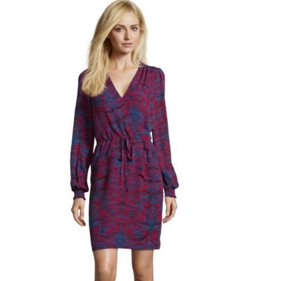 6cf07f944e085f Marchesa Dresses | Voyage Ikat Storm Silk Dress | Poshmark